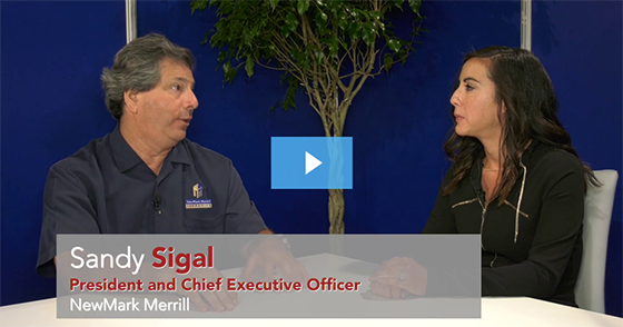 Interview - Sandy Sigal of NewMark Merrill